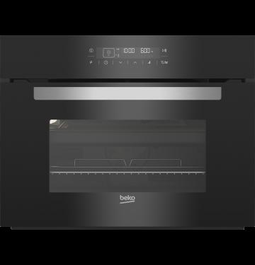 BEKO BCW14400B multifunctionele oven met microgolfoven - 45cm