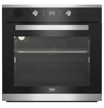 BEKO BIS15300X multifunctionele oven met stoomtoevoeging - 60cm