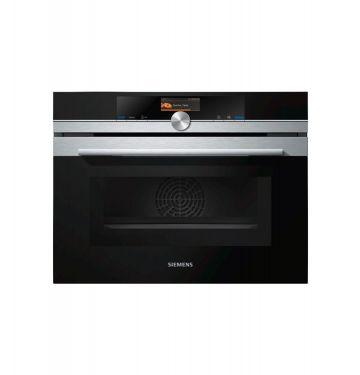 SIEMENS CM676G0S1 multifunctionele oven met microgolfoven - 45cm