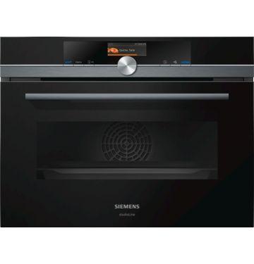 SIEMENS CM876G0B6 multifunctionele oven met microgolfoven - 45cm