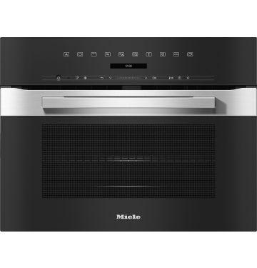MIELE H7240BMCS multifunctionele oven met microgolfoven - 45cm