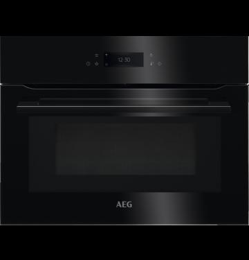 AEG KMK768080B multifunctionele oven met microgolfoven - 45cm
