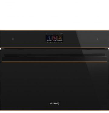 SMEG SF4604WMCNR multifunctionele oven met microgolfoven - 45cm