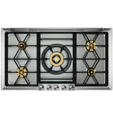 GAGGENAU VG295250 table de cuisson au gaz - 90cm